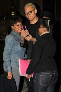 Chris Brown phone 2