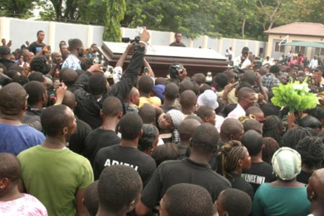 Dagrin's Burial Ceremony