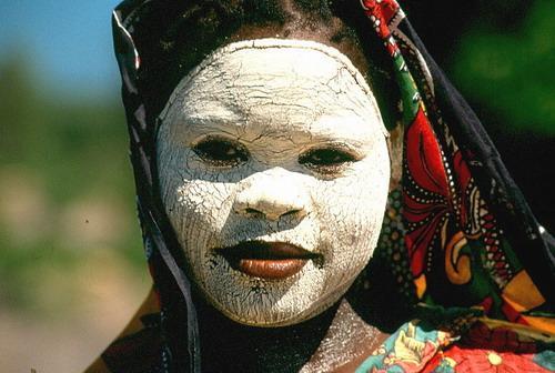 Makua woman , Mozambique