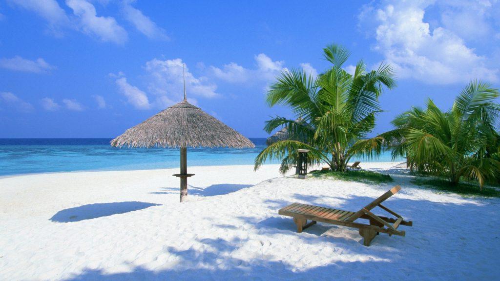 White Sands of Maldives Beaches