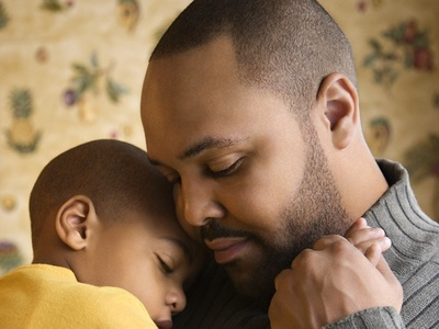 father-comforts-son