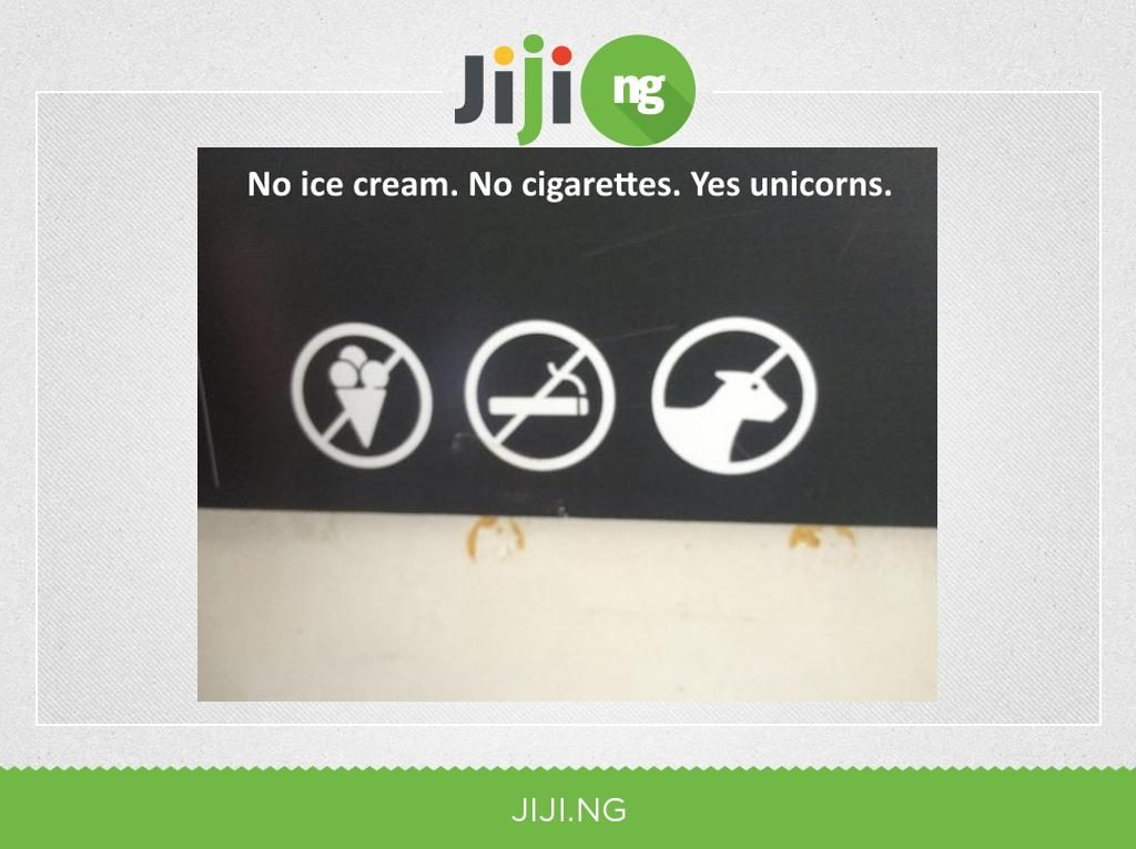 No ice cream, yes unicorn