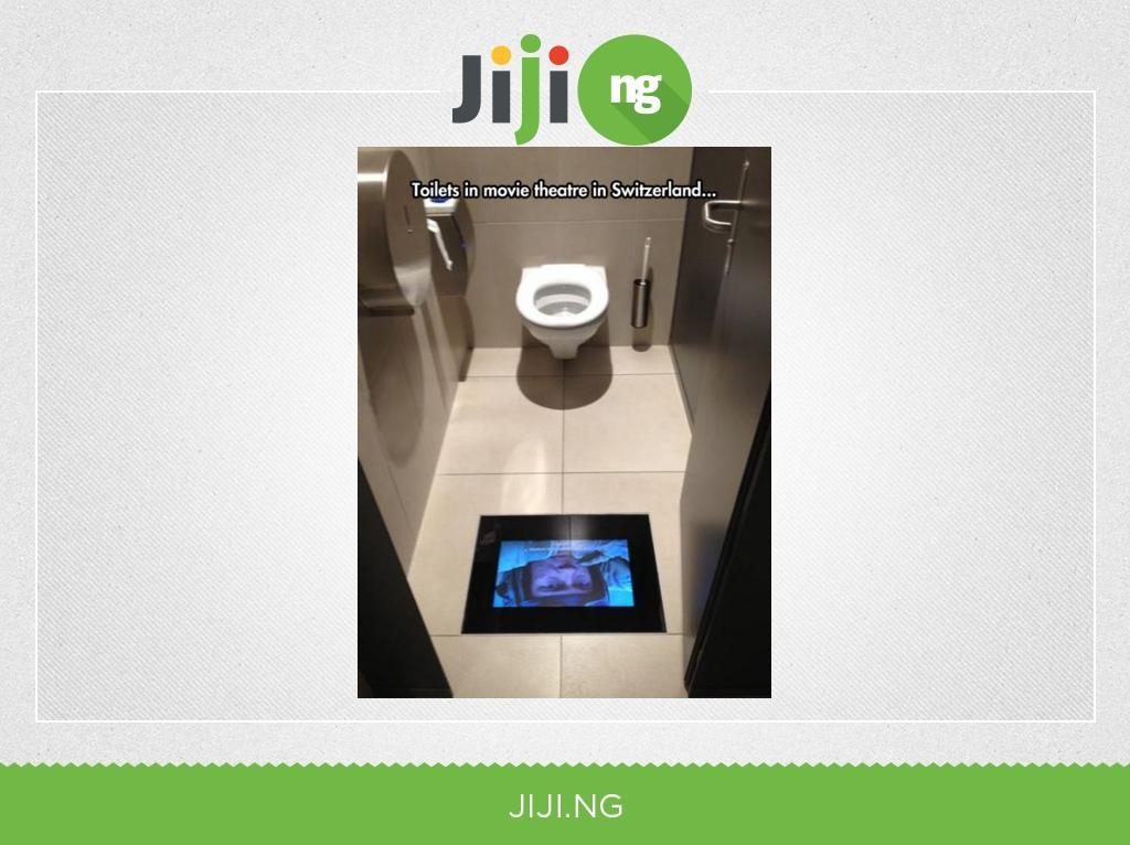 Sweden toilet in cinema