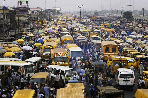 Lagos-Taffic