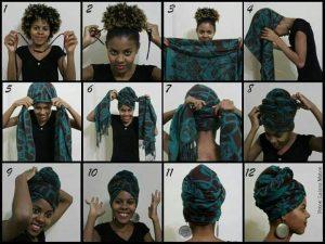 how to tie head tie