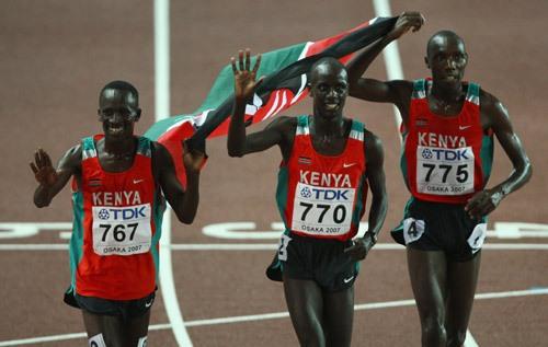 Kenyan-runners