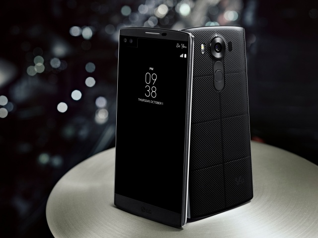 LG New Flagship V10: Two Displays & Two Front Cameras