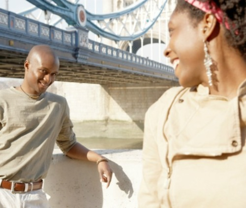 Black-man-and-woman-flirting-PF