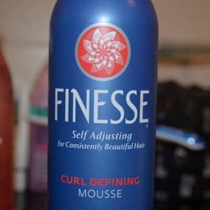 Finesse Self Adjusting Mousse, Curl Defining 2