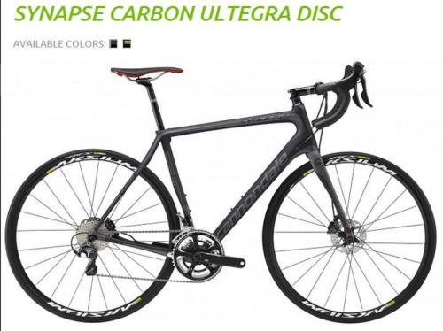 Cannondale - Synapse Hi-MOD Ultegra Disc Bicycle in Charcoal Grey 2