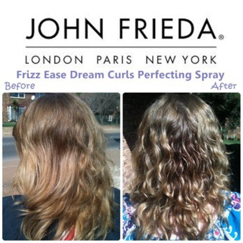 John Frieda Frizz-Ease Dream Curls Daily Styling Spray 3