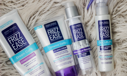 John Frieda Frizz-Ease Dream Curls Daily Styling Spray 4