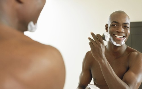 black-men-shaving