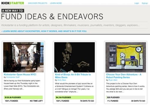 Kickstarter 4
