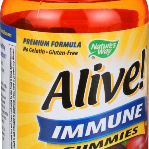 Nature's Way Alive! Immune Gummies 1