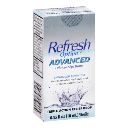 Refresh Optive Advanced Lubricant Eye Drops 1