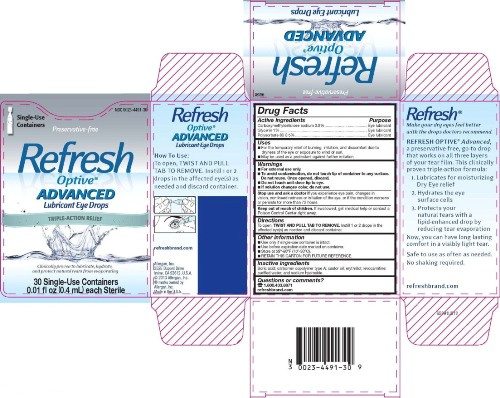 Refresh Optive Advanced Lubricant Eye Drops 3