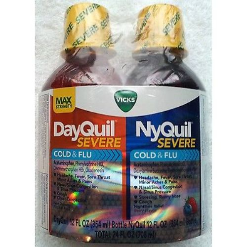 Vicks DayQuil & NyQuil Severe Cold & Flu Relief Liquid 2