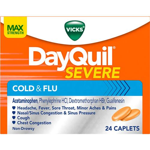 Vicks DayQuil & NyQuil Severe Cold & Flu Relief Liquid 3