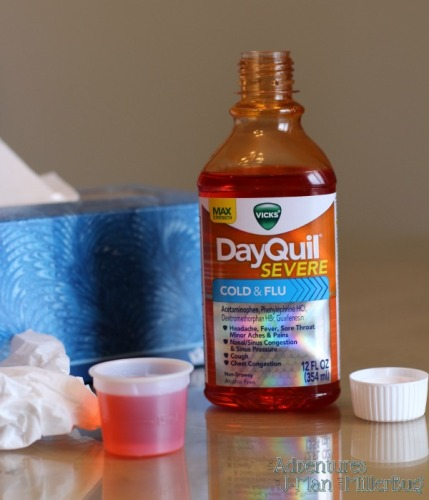 Vicks DayQuil & NyQuil Severe Cold & Flu Relief Liquid 5
