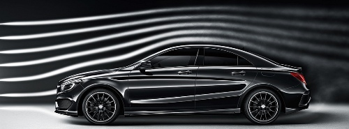 mercedes-CLA-aerodynamic