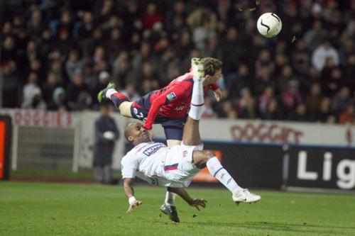 Florent MALOUDA - 16.02.2007 - Lille / Lyon - 25 eme journee de Ligue 1 Photo : Olivier Andrivon / Icon Sport