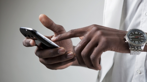 Smartphones offer a way for lower-income people who don't have broadband access at home to connect to the Internet.