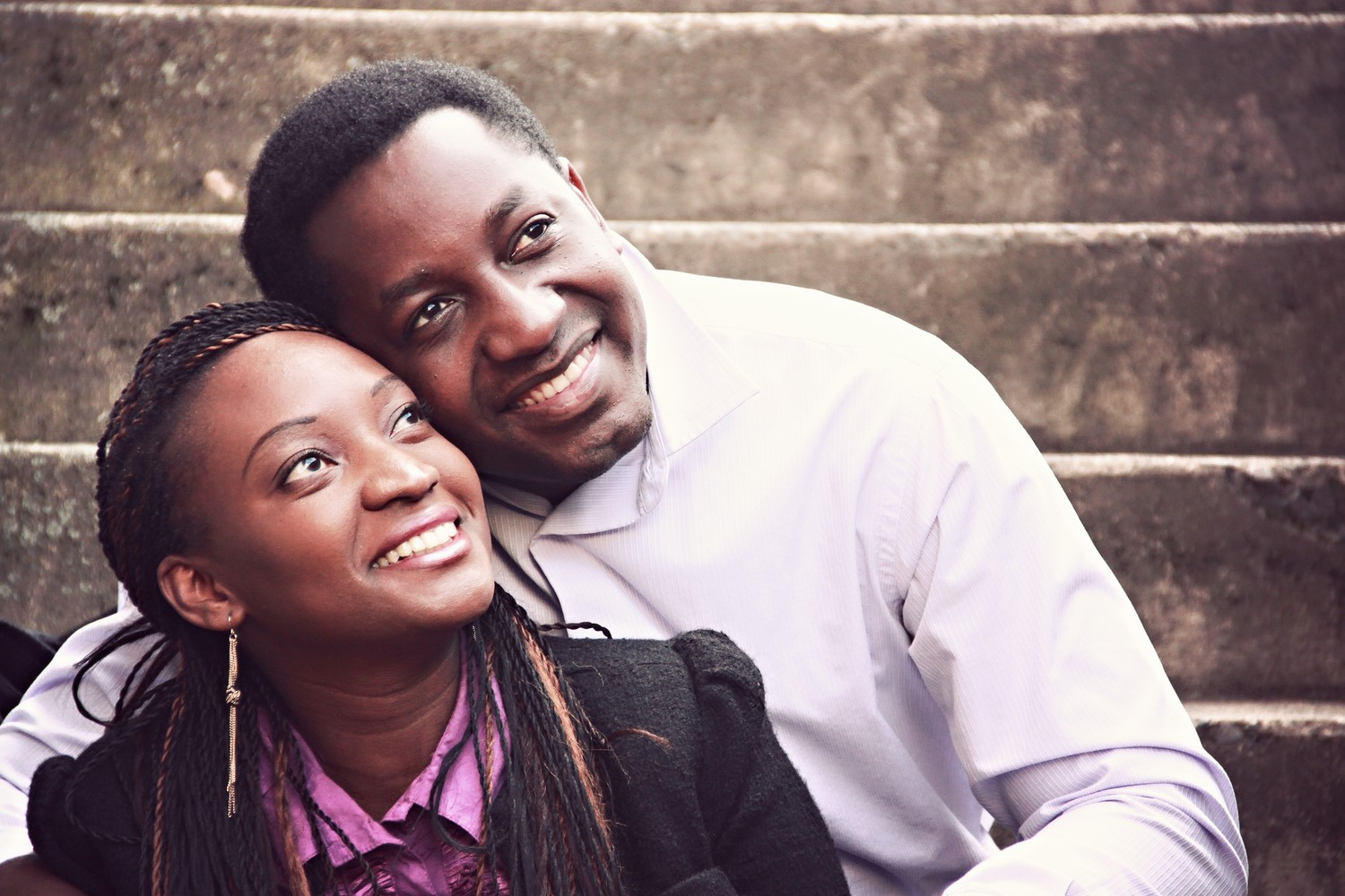 African+American+Couple+Stock+Photo