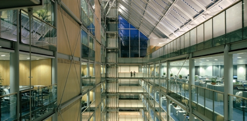 Ref: 10946-30-1 (LAB) Title: The Gibbs Building, Wellcome Trust HQ, London Architect: Michael Hopkins & Partners