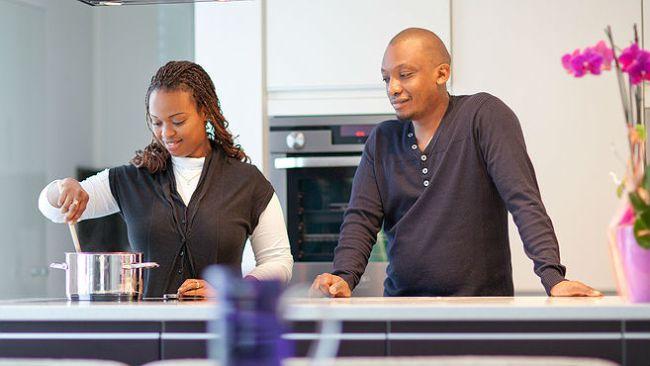 black-woman-cooking-kitchen