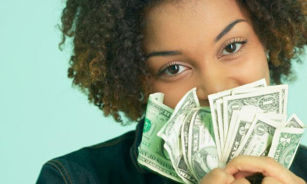 black-woman-money