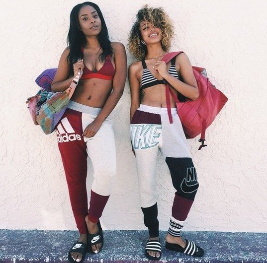 fyes3l-l-610x610-jumpsuit-cute-sexy-dope-trill-nike-style-shopjawn-bra-bralette-pants-nike+shoes-nike+sandals-bag-purse-blonde