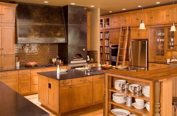 kitchen-design-indoor-wood-burning-pizza-oven