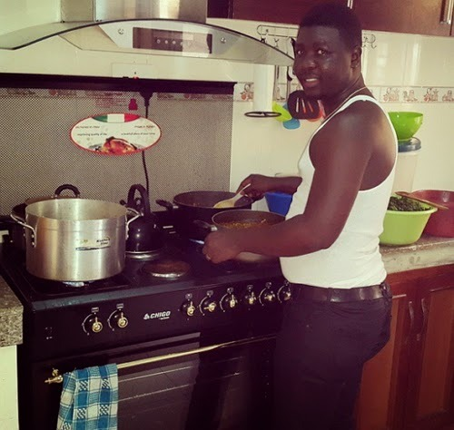 seyi law cooking