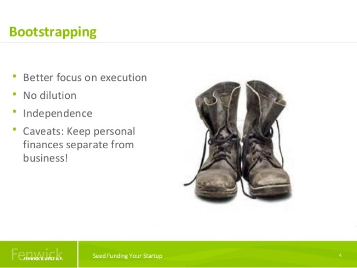 Bootstrap Funding 4