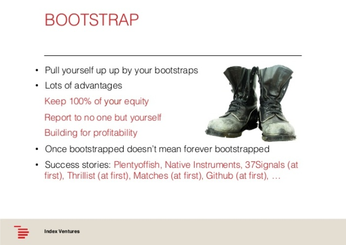Bootstrap Funding 5