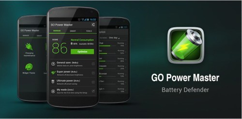 Do not use applications to save the battery power 3