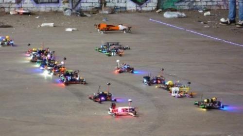 Drones races 1
