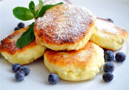 Farmer cottage cheese pancakes 1