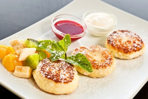 Farmer cottage cheese pancakes 3