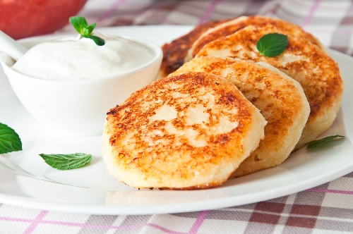 Farmer cottage cheese pancakes 4
