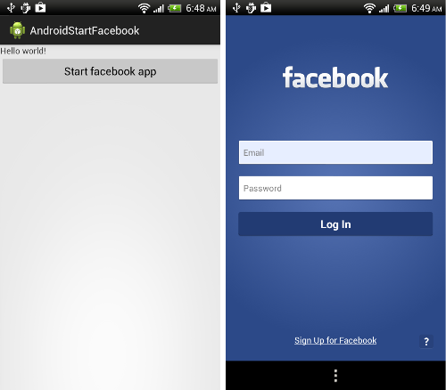 It is better not to use the Facebook app 1