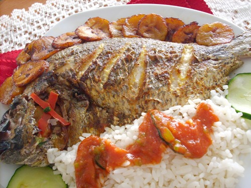 NIGERIAN GRILLED FISH recipe 1
