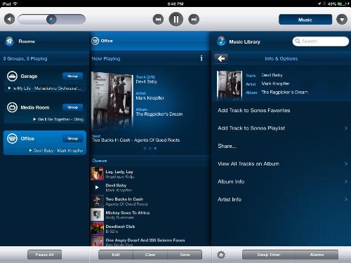 Sonos Play app 1