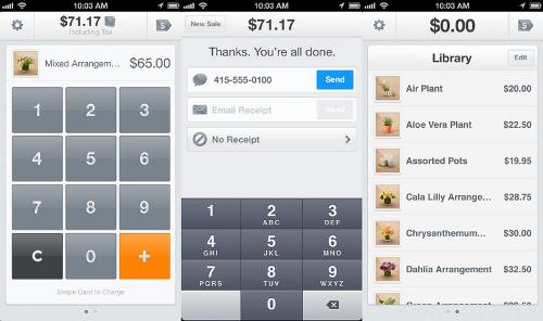 Square Register app 2