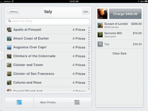 Square Register app 3