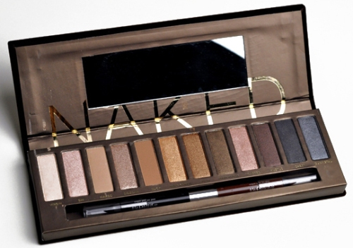 Urban Decay Naked 8 eye shadow palette 1
