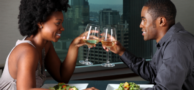 black-couple-having-dinner
