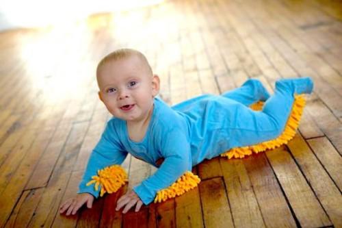 Baby Mop Suit 1
