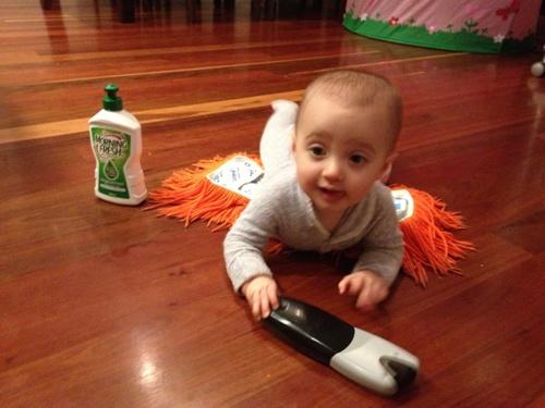 Baby Mop Suit 2